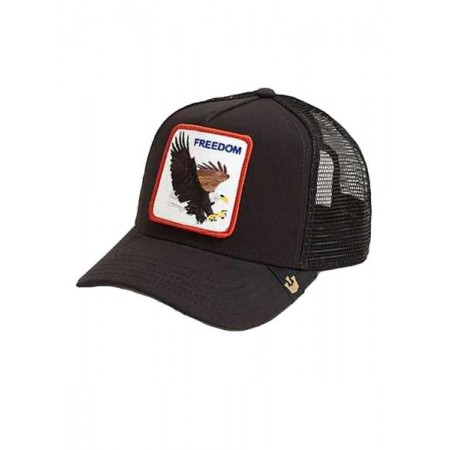 GOORIN BROS. FREEDOM Trucker - Black /Brown