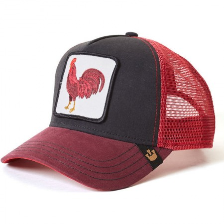 GOORIN BROS. BARNYARD KING Red / Grey