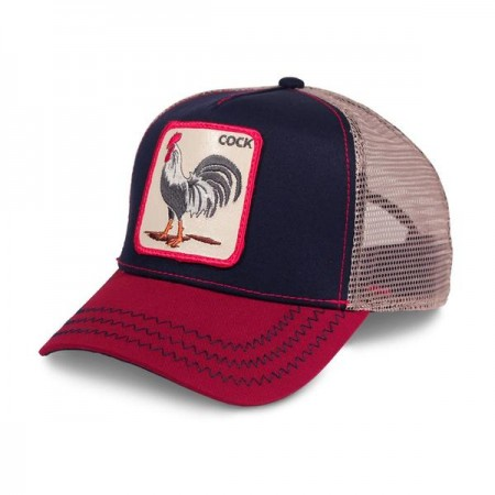 GOORIN BROS. ALL AMERICAN ROOSTER Red/ Blue